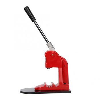 Maszyna do robienia guzików zestaw odznaka maszyna trwała z podwójne kolory uchwyt guzikiem diy Maker ręczne naciśnięcie narzędzia tanie i dobre opinie Badge Maker