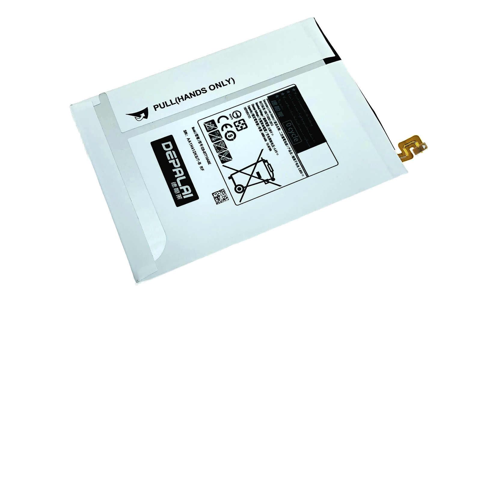 """4000 MAh EB-BT710ABA/EB-BT710ABE Baterai Pengganti untuk Samsung Galaxy Tablet Tab S2 8.0 """"SM-T710 T710 T715 Baterai"""