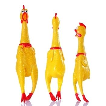 Dog Chicken Squeeze Sound Toy  4