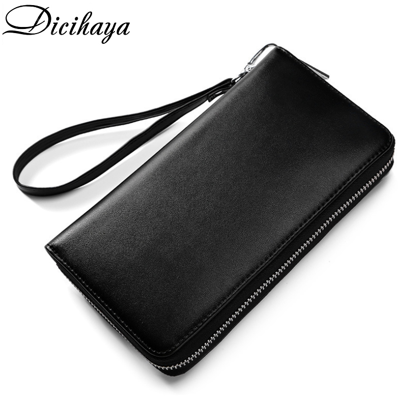 Purse Women Red/black/pink/Coffee/Slivery Solid Fashion Wallet Female Cowhide Leather Long Women Cellphone Bag 2020 Card Holder