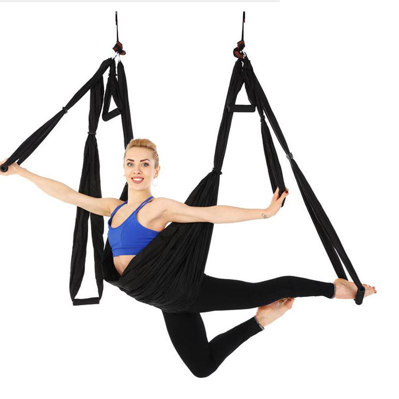 Aerial Yoga Swing Yoga Silk Yoga Hammock Ultra Strong Anti-Gravity US Ship
