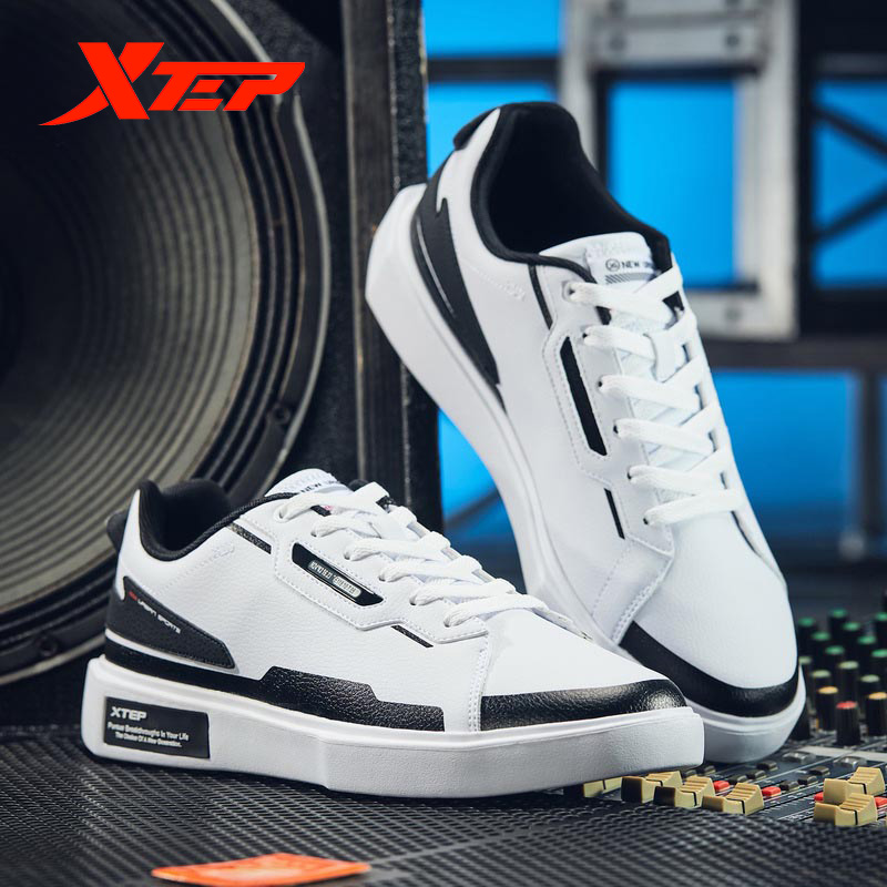 Xtep Men Skateboarding Shoe Men Fashion Trend Sneaker Shoes Men Sport Casual Shoes 881419319669