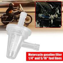 """1/"""" 5/16"""" мотоциклетные 90 градусов масляные фильтры встроенный топливный фильтр комплект стабильная Автомобильная ловушка растворитель двигателя фильтр Картера авто"""