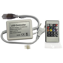 20Keys IR LED RGB Controller For 220V SMD 5050 RGB 60LED Strip Lights Home Strip Light WIFI IR Remote Controller