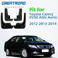 Литые Брызговики для Toyota Camry XV50 Altis Aurion 2012 2013 2014 брызговики Брызговики передние и задние брызговики крыло
