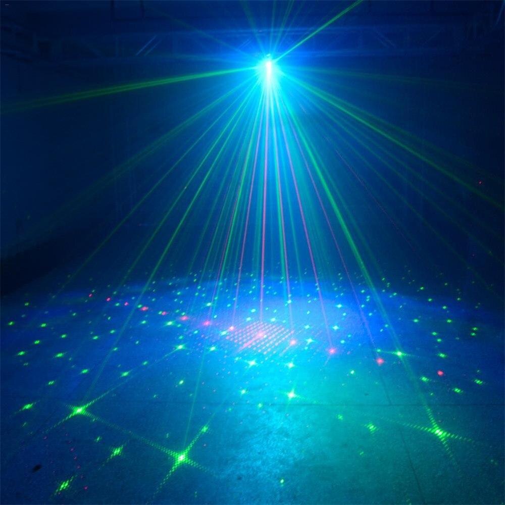 Mini 60 modos rgb efeito de luz