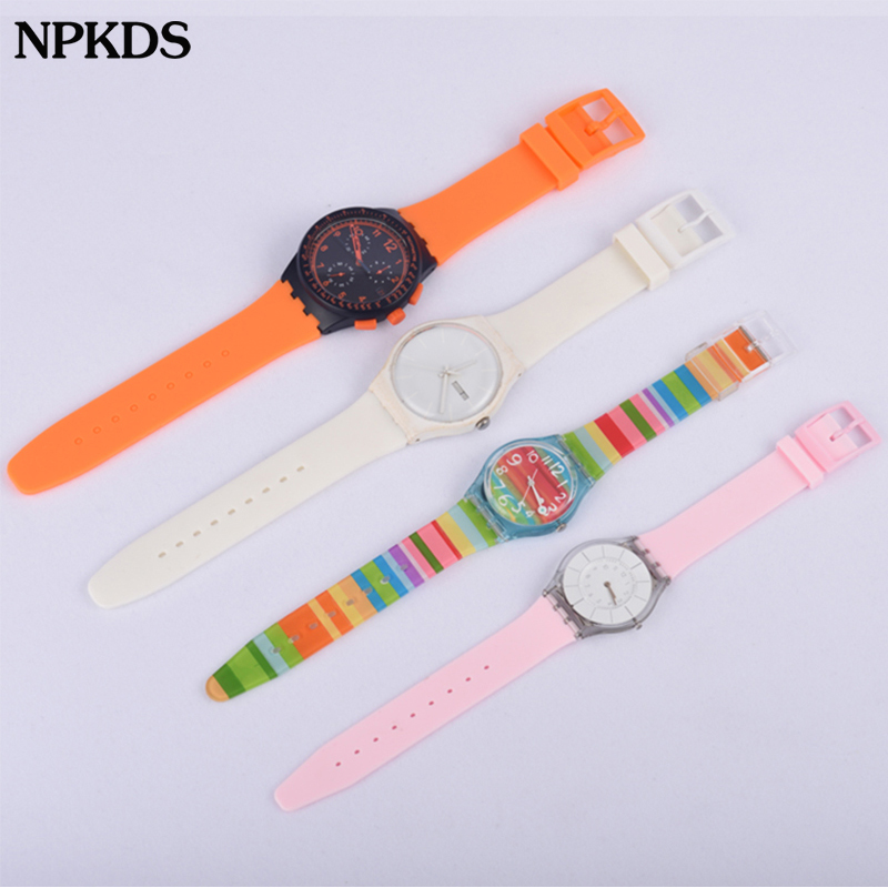 12mm 17mm 19mm 16mm 20mm Replacement Watchband Watch Band Strap For Swatch Strap High Quality Silicone Watch Belts For Swatch