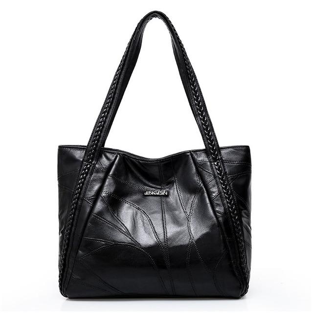 Leather Women Shoulder Bags Large Capacity Bag  Hobo Women Handbag Fashion Designer Crossbody Vintage Leather Ladies HandBags