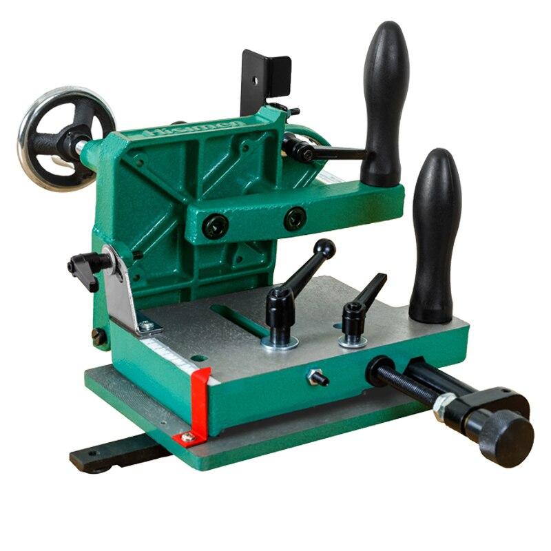 H7583 Woodworking Desktop Tenoning Machine Special Tenon Saw Tenoning Fixture Desktop Tenoning Machine Drill Tool