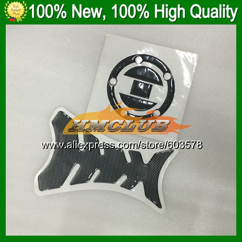 3D Carbon Fiber Tank Pad For SUZUKI GSXR600 GSXR750 08 09 10 GSXR <font><b>600</b></font> 750 <font><b>GSX</b></font> R600 <font><b>2008</b></font> 2009 2010 CL342 3D Gas Cap sticker decal image