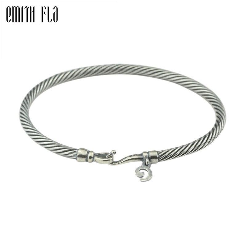 Genuine Sterling Silver 925 European Snake Bracelet For Charms Beads
