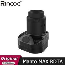 Original Rincoe Manto Max RDTA Pod Cartridge Electronic Cigarette Atomizer Vaporizer for E Cigarette Rincoe Manto Max Vape Kit