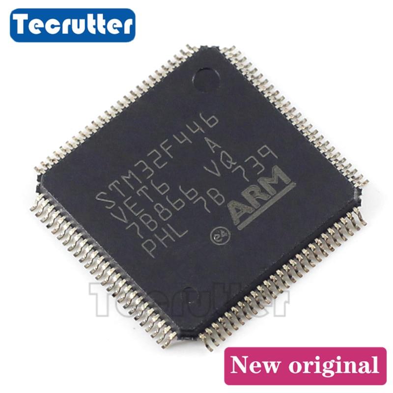 5PCS STM32F446VET6 MCU 32BIT 512KB FLASH LQFP100 32F446VET6 STM32F446