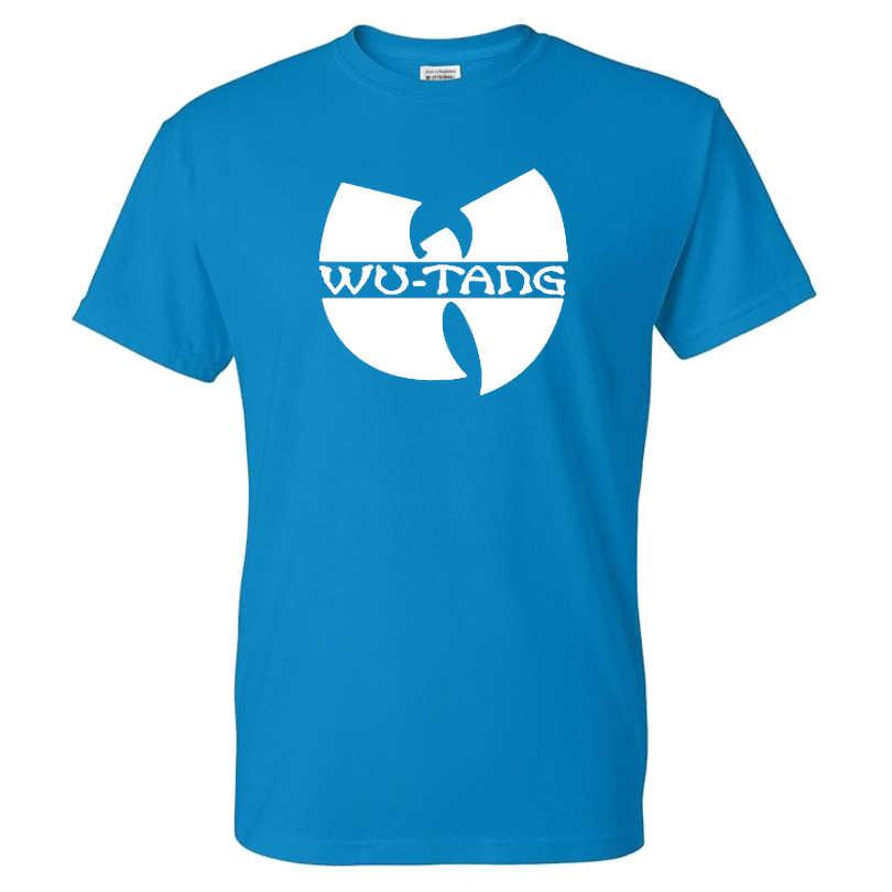 Populaire Hip Hop Band Wu Tang Clan T-shirt Mannen Vrouwen Casual Streetwear Katoen O-hals Met Korte Mouwen T-shirt Sport Tees tops Unisex