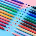MONAMI 3000 12/24/36/48 Цвет s гелевая ручка волокна Цвет воды Цвет ручка вручную учетной записи граффити живопись школьные канцелярские принадлежнос...