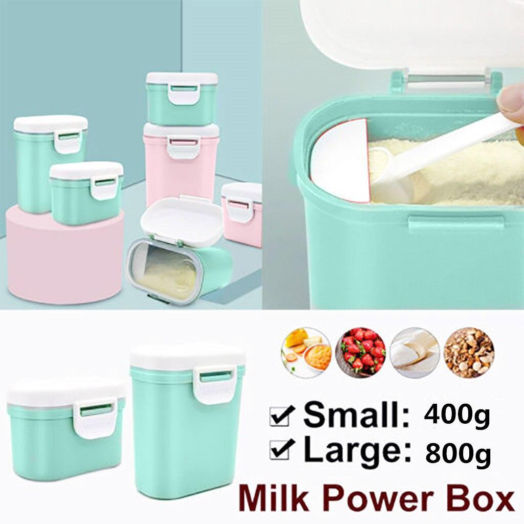Portable Milk Powder Formula Dispenser Food Container Infant Bean Storage Box