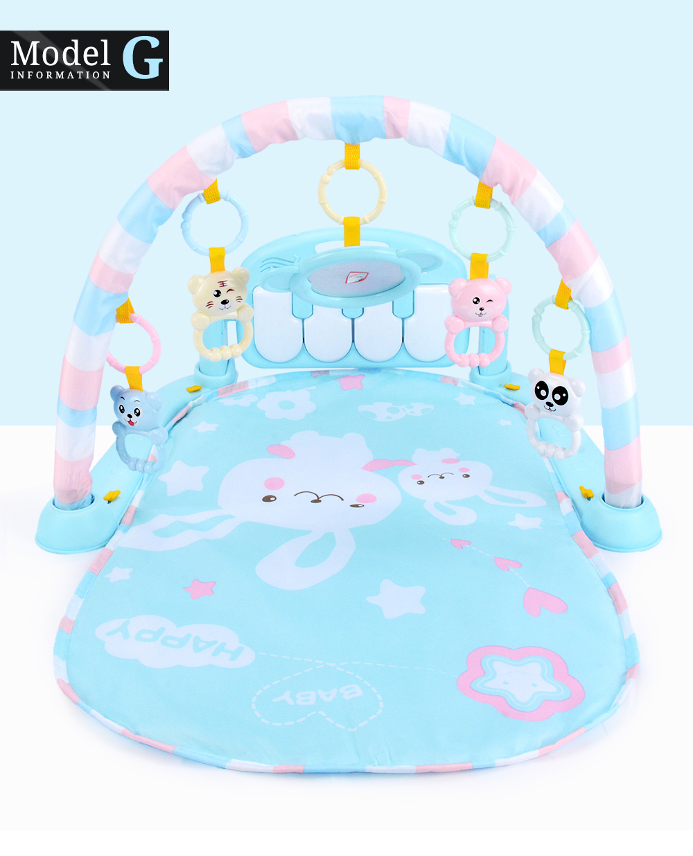H2c12678815d64f60a93159ab8decb9dcc 16 Styles Baby Music Rack Play Mat Kid Rug Puzzle Carpet Piano Keyboard Infant Playmat Early Education Gym Crawling Game Pad Toy