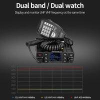 vhf uhf RETEVIS RT95 Mobile Radio רכב מכשיר קשר VHF UHF רכב Ham Radio אמאדור TFT LCD Display 25W דו כיוונית רכב רדיו המשדר + MIC (3)