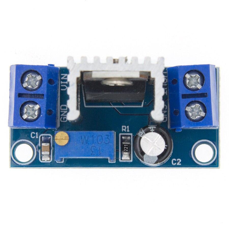 Модуль питания LM317 LM317T, понижающий преобразователь постоянного тока в DC DC|power module|dc-dc step-downmodule lm317 | АлиЭкспресс