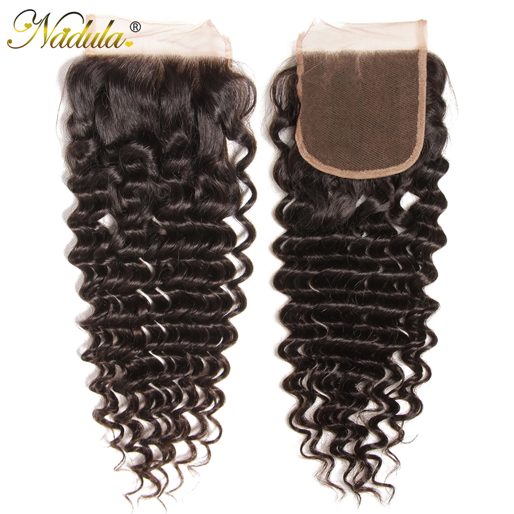 Deep Wave 4*4 Free Part Swiss Lace Closure
