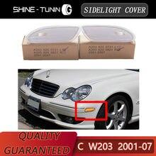 Indicador lateral delantero izquierdo es luz intermitente para Benz W203 Clase C 01-07C230 C240 C280 C320 C350 2038200721