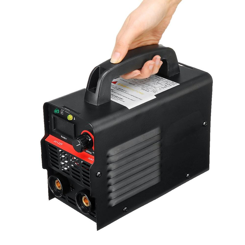 220 В Регулируемый ручной IGBT инвертор Электрический дуговой сварочный аппарат цифровой дисплей мини портативный сварочный инструмент