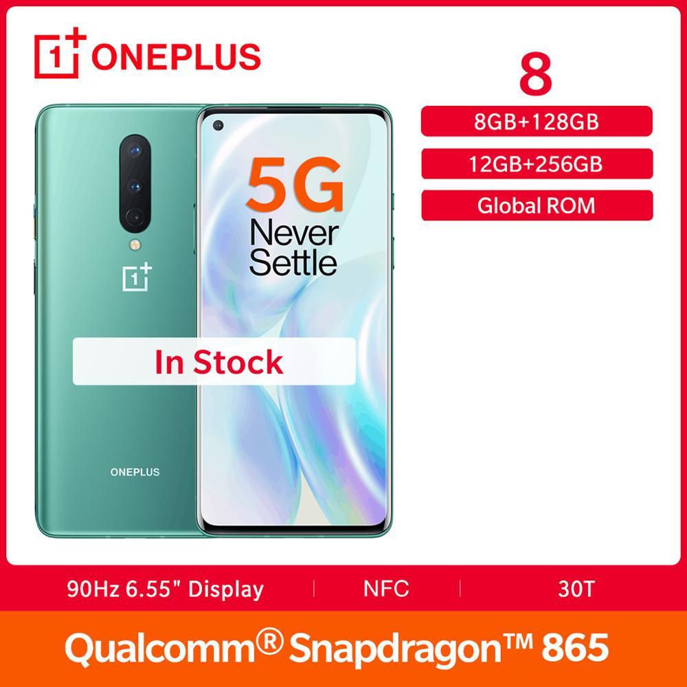 Nuevo OnePlus 8 5G Rom Global 8GB 128GB Snapdragon 865 90Hz 6,55
