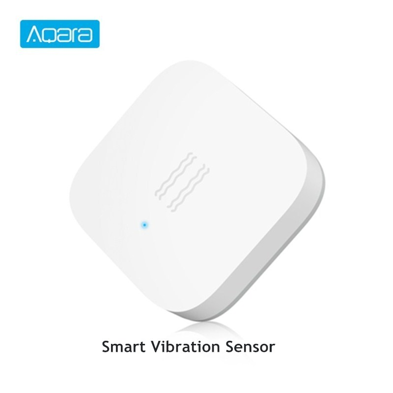 Aqara Smart Vibration Sensor ZigBee Wireless Vibration Detection Alarm Monitor Shock Sensor Built In Gyro For Mi Home App