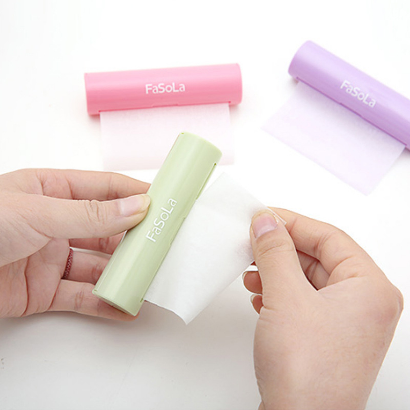 Fasola Portable Soap Paper Boxed Hand Washing Soap Slice Travel Standing Paper Disposable Soap Flake