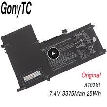 Batería Original AT02XL para ordenador portátil HP ElitePad 900 G1 Table HSTNN C75C, 7,4 V, 3375Mah, 25WH, 685368 1B1, batería de mesa