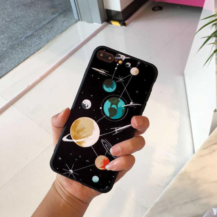 Engraçado dos desenhos animados abacate caso de telefone para iphone 7 8 plus 11pro tpu silicone capa para iphone x xr xs max 6 s mais casos macios