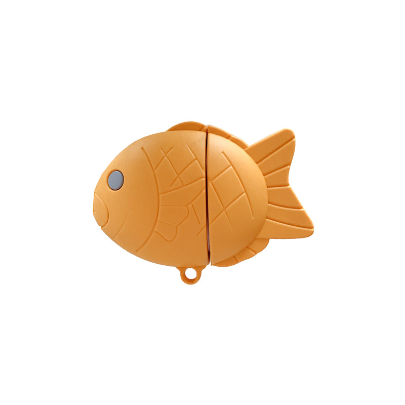Fuuny Taiyaki For Apple Airpods 2 Case Accessories Cute Cat Bluetooth Earphone Cover Cartoon Silicone Headphone For Airpods Case