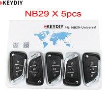 5 pçs/lote, keydiy multifuncional original kd900k/d900 +/ur200/KD-X2, programador nb series controle remoto nb29 para chave do carro