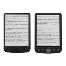 ALLOYSEED мини 6 дюймов электронная книга ридер E-Ink экран 8 Гб электронная Бумажная книга с передним светильник Поддержка TF карты подарок для сотрудников