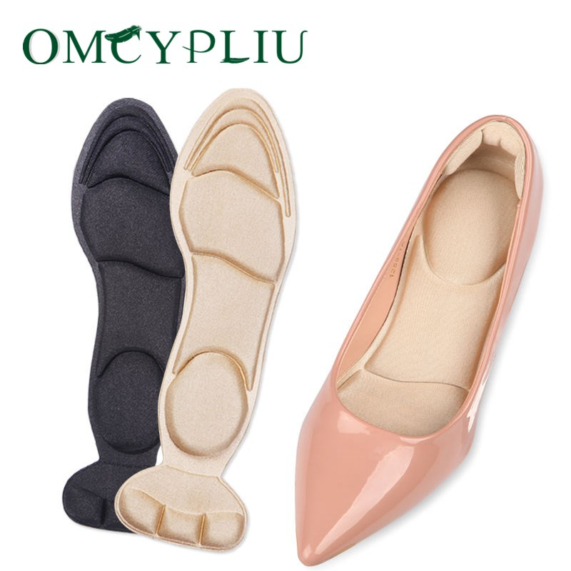 High Heel Shoes Insole Women Boots Massage Insoles Pain Release Comfy Soft Pad
