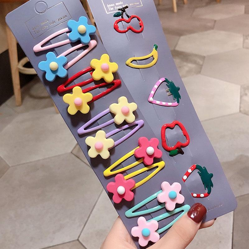 15pcs Girl Hair Clips Flower Hairpin Hair Accessories for Kids Babies Girls