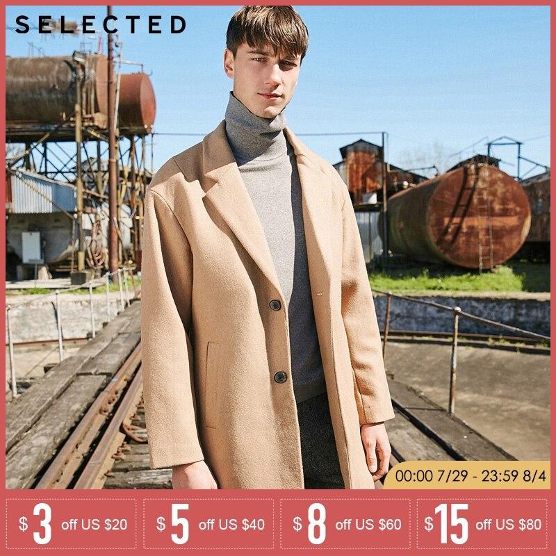 Una reta Winter Jacket Men 2018 New Fashion casual Male Parka Jacket Mens Long sleeve Slim