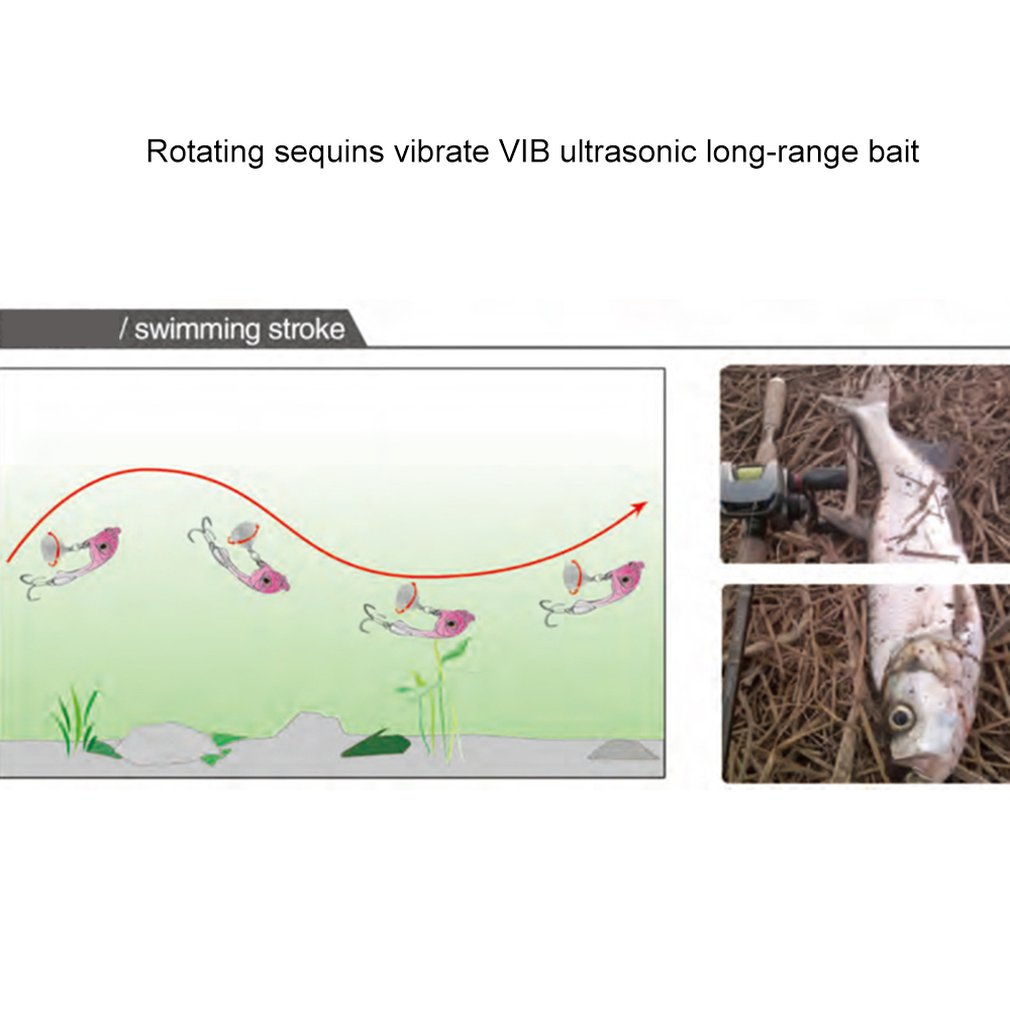 False Fishing Worm Bait Artificial Predator Tackle Fishes Attraction Vibration