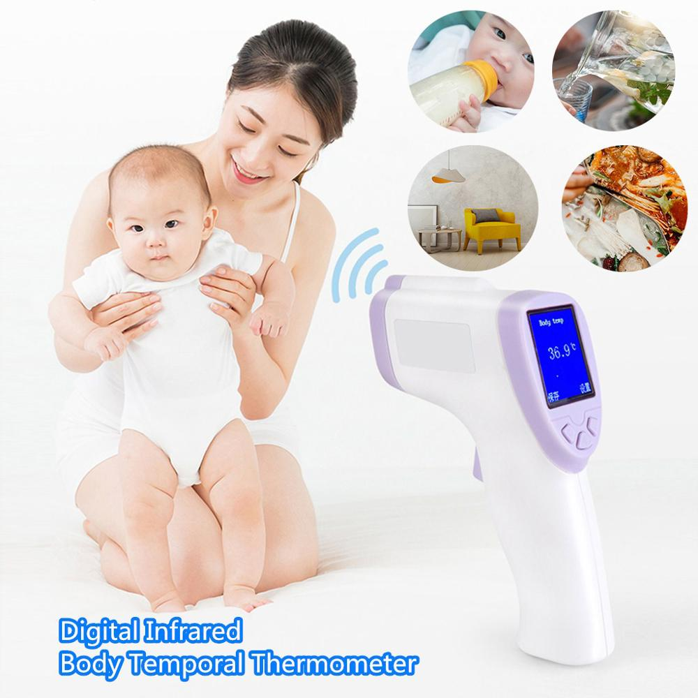Forehead Thermometer Digital Infrared Body Temporal Thermometer Temperature Measurement Portable Children Digital Thermometer Y3