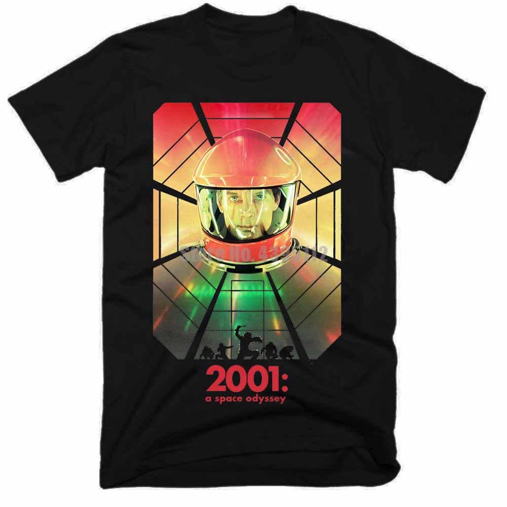 A Space Odyssey Movie Mens Funny T-Shirts Men Streetwear 2019 Tshirt Gym King T Shirts Custom Tee Shirt Men Clothing 2019