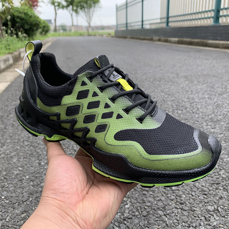New Arrival Men's Golf Shoes Outdoor Breathable Sports Shoes Male Color Matching Lace-Up Golf Sneakers 39-44