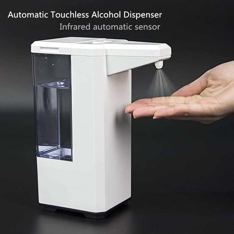 New Automatic Touchless Alcohol Dispenser For Hand Disinfection Alcohol Spray Machine Sensor Touch Soap Dispenser