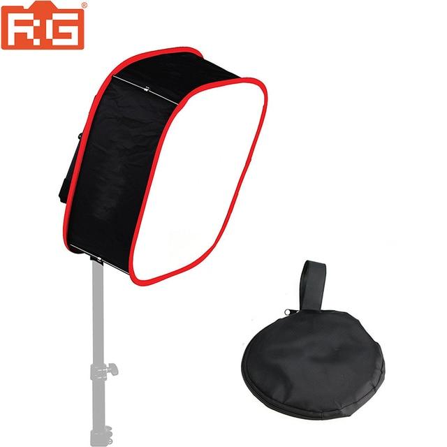 Studio Softbox Diffuser Voor Yongnuo YN600L Ii YN900 YN300 YN300 Iii Air Led Video Light Panel Opvouwbaar Soft Filter