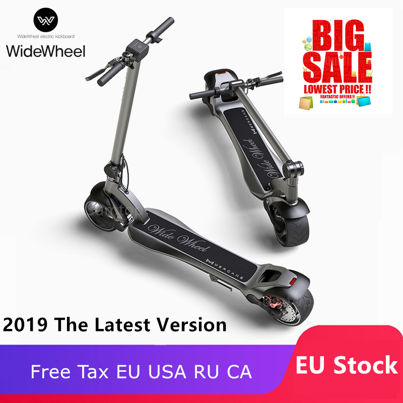 EU Stock 2019 Mercane WideWheel 48V 500W /1000W Kickscooter Smart Electric Scooter Wide Wheel 45KM/H Dual Motor Skate Hoverboard
