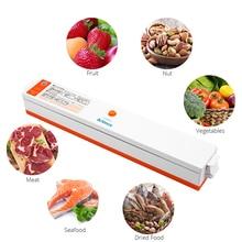 Sellador al vacío de alimentos automático para el hogar máquina de envasado al vacío, 15 Uds., bolsas al vacío, electrodomésticos de cocina