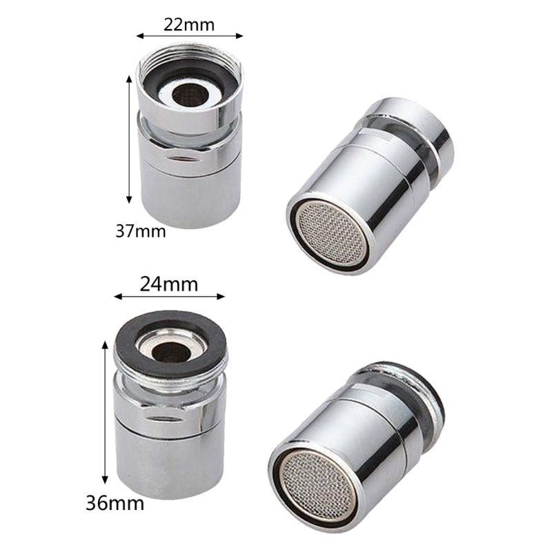 New Brass Water Saving Tap Faucet Aerator Sprayer Attachment with 360-Degree Swivel 2019 3