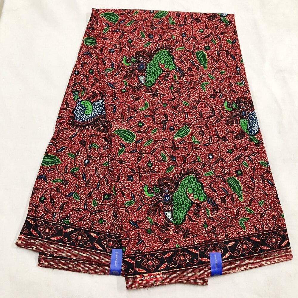 Rea Wax 100% Cotton High Quality African Fabric Wholesale 2020 Real Wax Veritable Tissu Ankara Fabric African Wax Prints Fabric