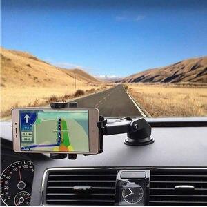Image 4 - ブランド新スタイル自動車電話ホルダーユニバーサル360 ° 車のフロントガラスダッシュボードホルダーをgps、pda、携帯電話スタンド