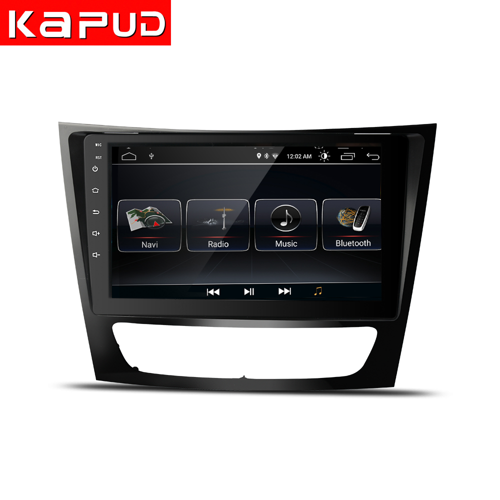 Kapud Android 9 reproductor Multimedia DVD GPS para coche Benz e-clas W211(E200 E220 E240 E270 E280 E300 E350)Cls Classe w219 con radio
