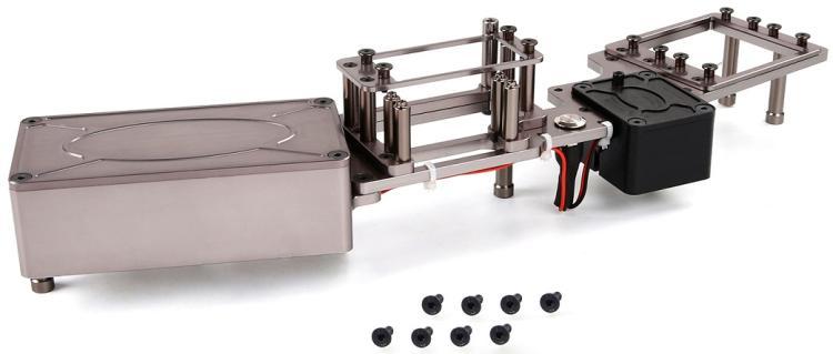 CNC оборудование отсек батареи чехол руля стойки кабины для 1/5 Rovan F5 RF5 грузовик запасные части MCD XS5